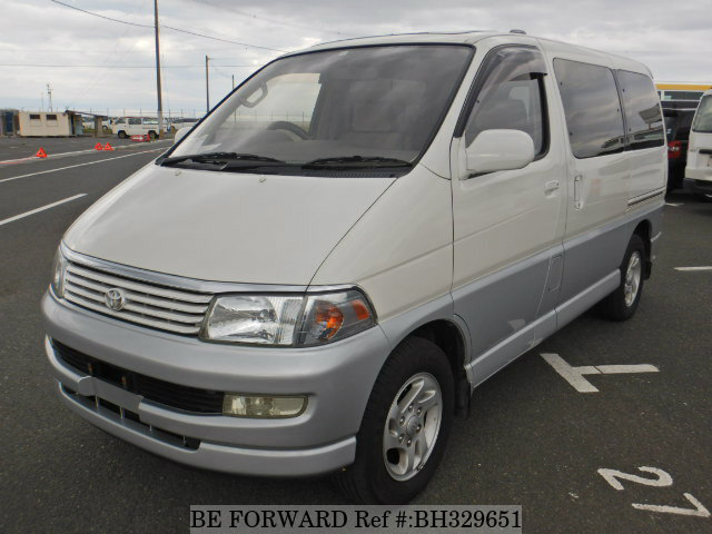Used 1997 TOYOTA REGIUS WAGON BH329651 for Sale