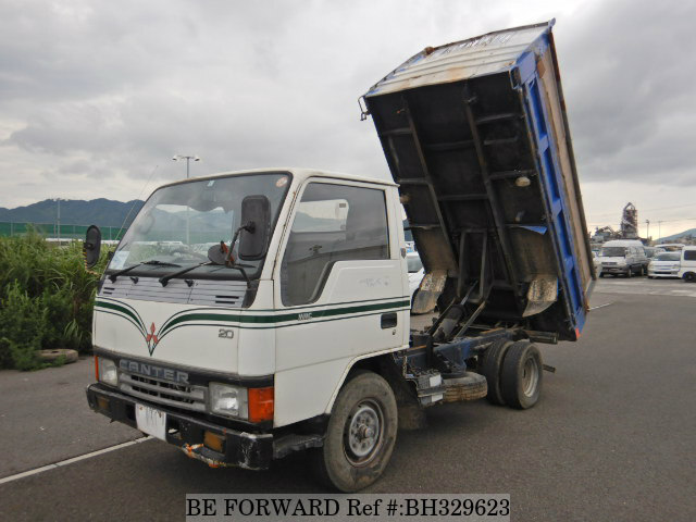 Used 1990 MITSUBISHI CANTER BH329623 for Sale