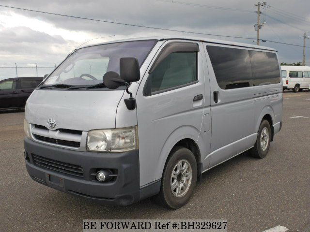 Used 2007 TOYOTA REGIUSACE VAN BH329627 for Sale