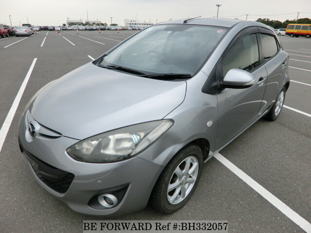 Used 2011 MAZDA DEMIO BH332057 for Sale