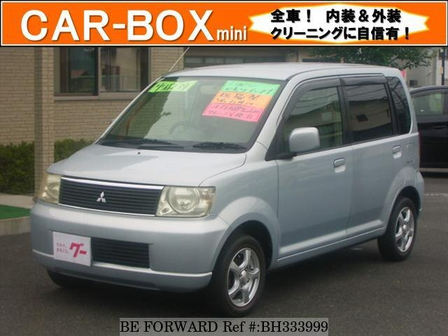 Used 2001 MITSUBISHI EK WAGON BH333999 for Sale