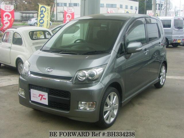 Used 2007 DAIHATSU MOVE BH334238 for Sale