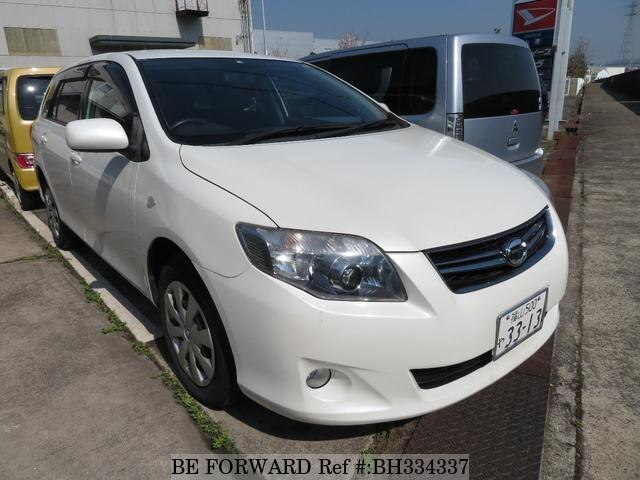 Used 2010 TOYOTA COROLLA FIELDER BH334337 for Sale