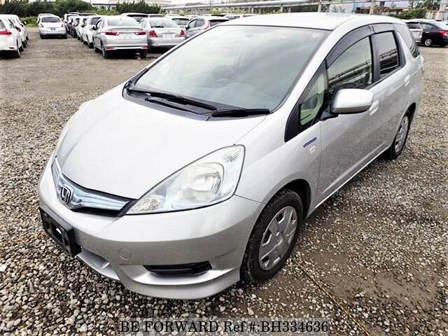 Used 2013 HONDA FIT SHUTTLE HYBRID BH334636 for Sale