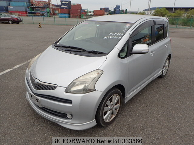 Used 2006 TOYOTA RACTIS BH333566 for Sale