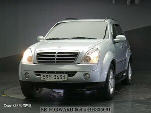 Used 2008 SSANGYONG REXTON BH335061 for Sale