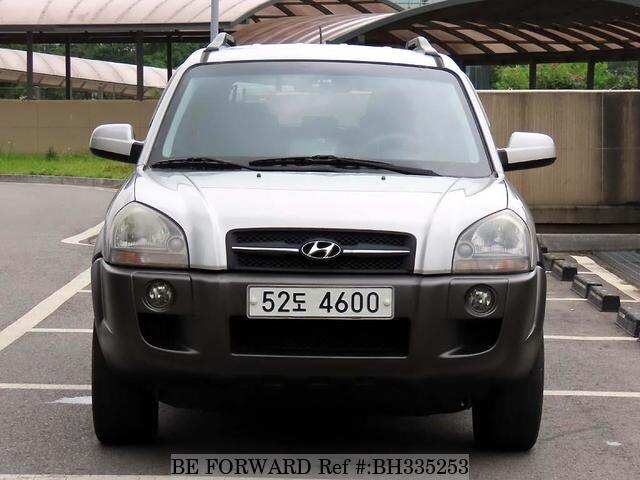 Used 2007 HYUNDAI TUCSON BH335253 for Sale