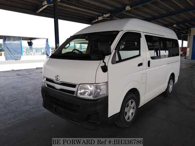 Used 2013 TOYOTA HIACE VAN BH336786 for Sale