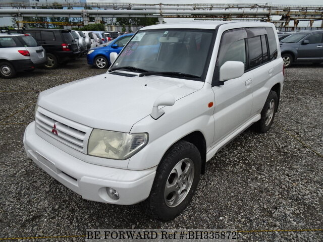 Used 2000 MITSUBISHI PAJERO IO BH335872 for Sale