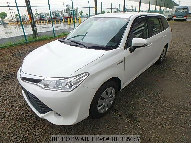 Used 2015 TOYOTA COROLLA FIELDER BH335627 for Sale