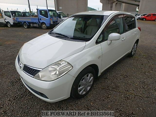 Used 2007 NISSAN TIIDA BH335642 for Sale