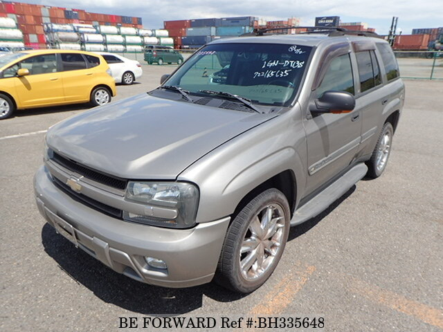 Used 2001 CHEVROLET TRAILBLAZER BH335648 for Sale