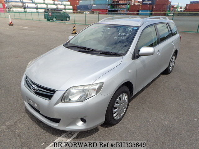 Used 2011 TOYOTA COROLLA FIELDER BH335649 for Sale