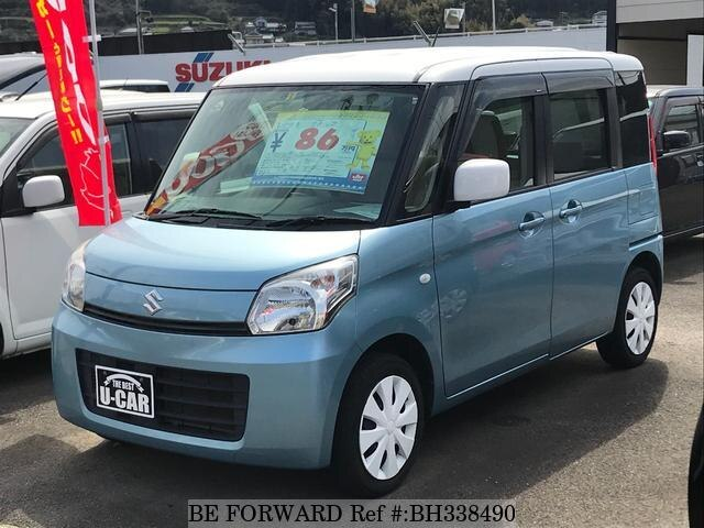 Used 2013 SUZUKI SPACIA BH338490 for Sale