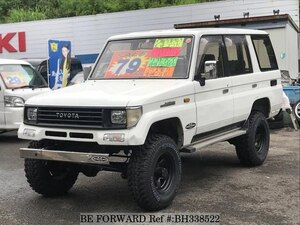 Used 1990 TOYOTA LAND CRUISER PRADO BH338522 for Sale