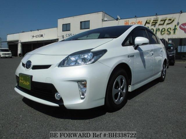 Used 2013 TOYOTA PRIUS BH338722 for Sale