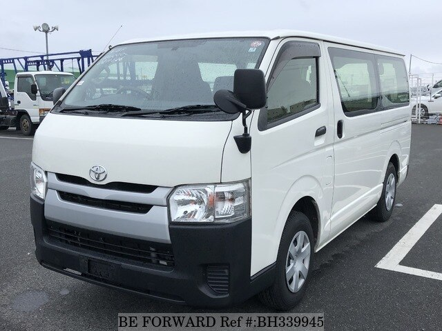 Used 2015 TOYOTA HIACE VAN BH339945 for Sale
