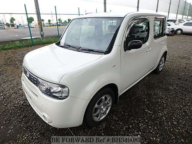 Used 2009 NISSAN CUBE BH340083 for Sale