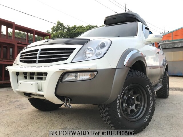 Used 2002 SSANGYONG REXTON BH340506 for Sale