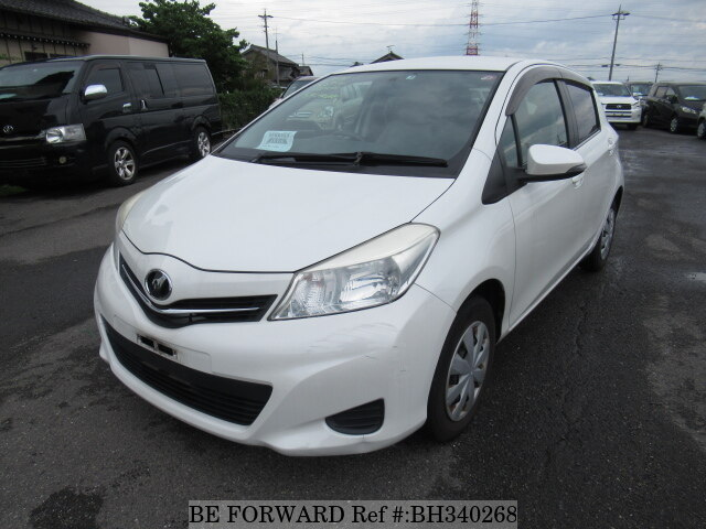 Used 2012 TOYOTA VITZ BH340268 for Sale