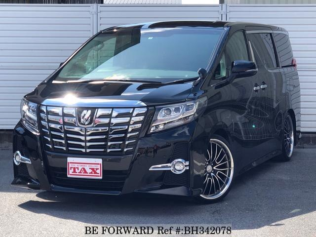 Used 2015 TOYOTA ALPHARD BH342078 for Sale