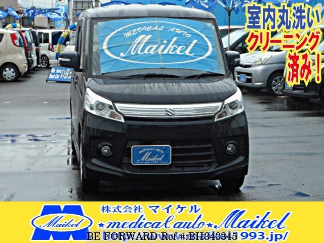 Used 2014 SUZUKI SPACIA BH343345 for Sale