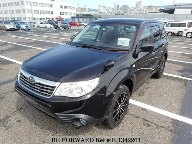 Used 2009 SUBARU FORESTER BH342261 for Sale