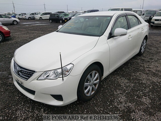 Used 2012 TOYOTA MARK X BH342336 for Sale