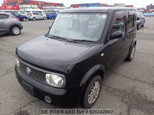 Used 2007 NISSAN CUBE BH342962 for Sale