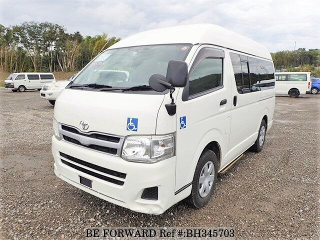 Used 2011 TOYOTA HIACE VAN BH345703 for Sale
