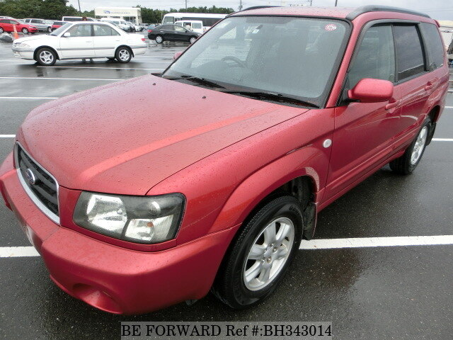 Used 2002 SUBARU FORESTER BH343014 for Sale
