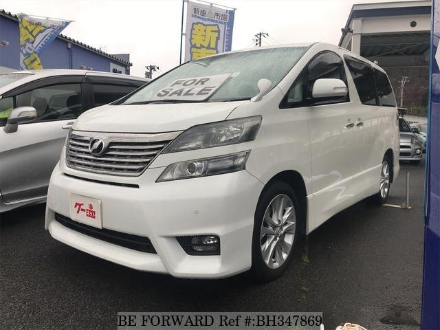 Used 2010 TOYOTA VELLFIRE BH347869 for Sale