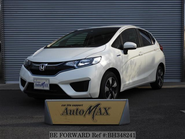 Used 2017 HONDA FIT HYBRID BH348241 for Sale