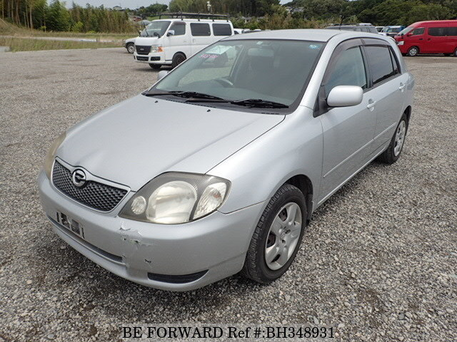 Used 2001 TOYOTA COROLLA RUNX BH348931 for Sale