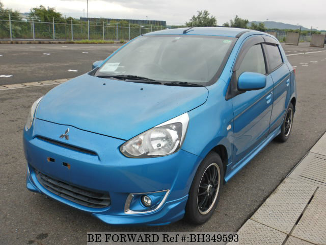 Used 2012 MITSUBISHI MIRAGE BH349593 for Sale
