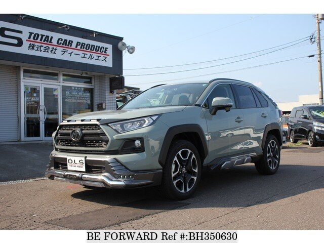 Used 2019 TOYOTA RAV4 BH350630 for Sale
