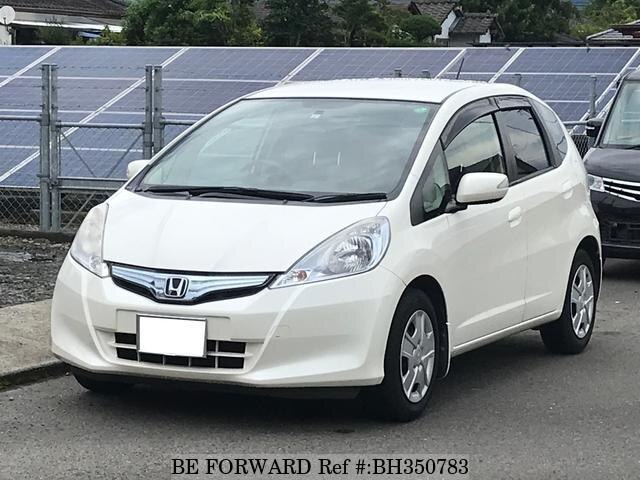 Used 2011 HONDA FIT HYBRID BH350783 for Sale