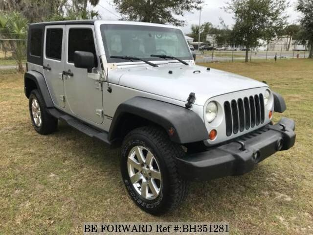 Used 2008 JEEP WRANGLER BH351281 for Sale
