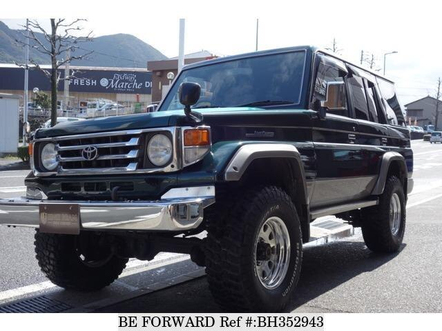 Used 2003 TOYOTA LAND CRUISER BH352943 for Sale