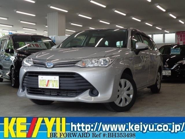 Used 2015 TOYOTA COROLLA FIELDER BH353498 for Sale