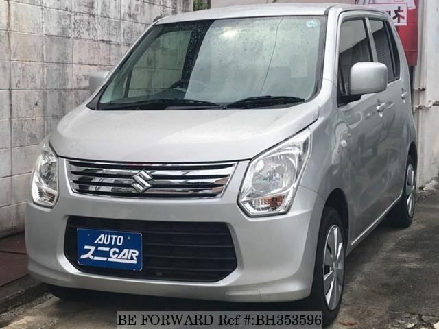 Used 2013 SUZUKI WAGON R BH353596 for Sale