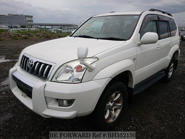 Used 2004 TOYOTA LAND CRUISER PRADO BH352150 for Sale