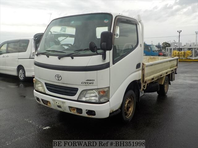 Used 2004 TOYOTA DYNA TRUCK BH351998 for Sale
