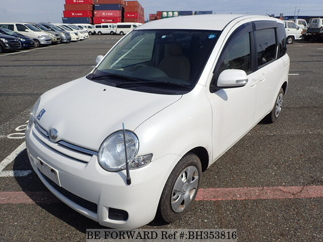 Used 2011 TOYOTA SIENTA BH353816 for Sale