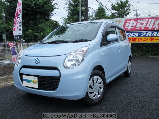 Used 2013 SUZUKI ALTO BH354661 for Sale
