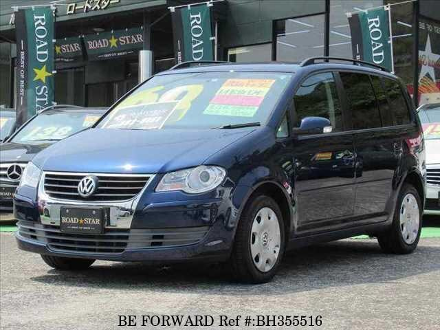Used 2008 VOLKSWAGEN GOLF TOURAN BH355516 for Sale