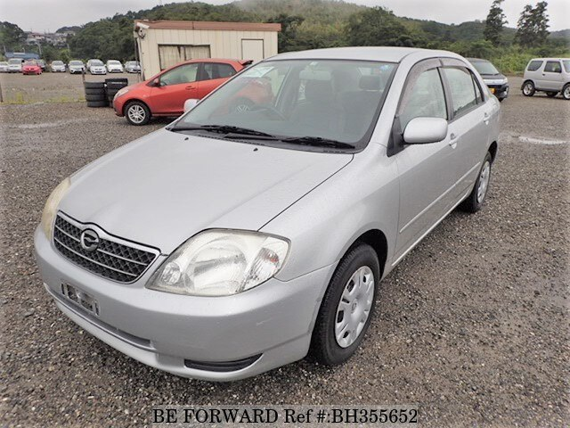 Used 2002 TOYOTA COROLLA SEDAN BH355652 for Sale