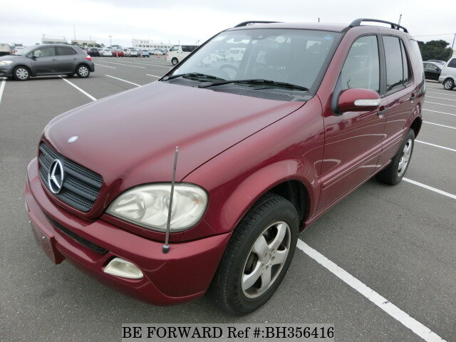 Used 2004 MERCEDES-BENZ M-CLASS BH356416 for Sale