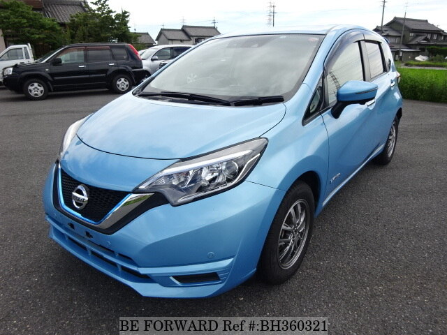 Used 2018 NISSAN NOTE BH360321 for Sale