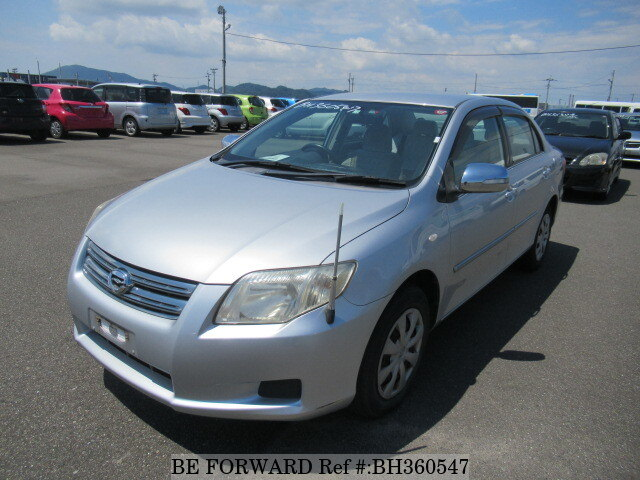Used 2007 TOYOTA COROLLA AXIO BH360547 for Sale